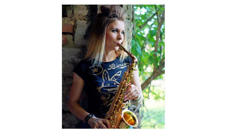 The Lady with de Sax