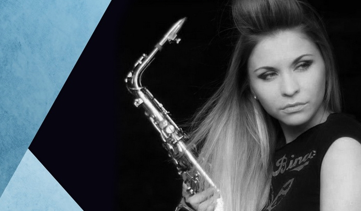 The Lady With The Sax by Promo Events